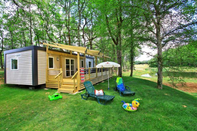 mobil-homes du camping Saint Avit