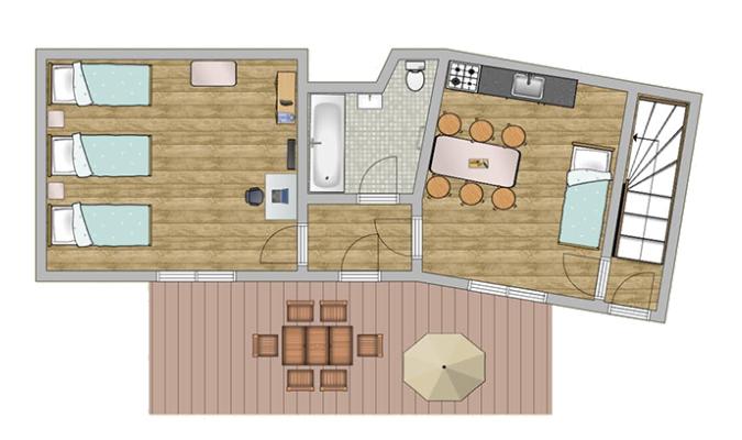 Plan appartement abc