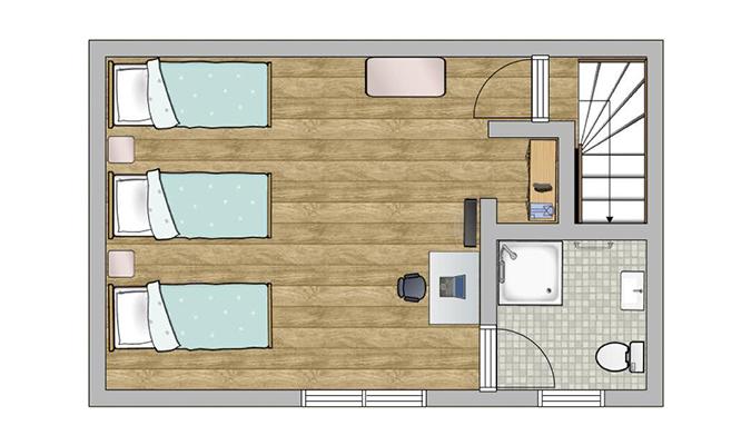 Plan appartement b
