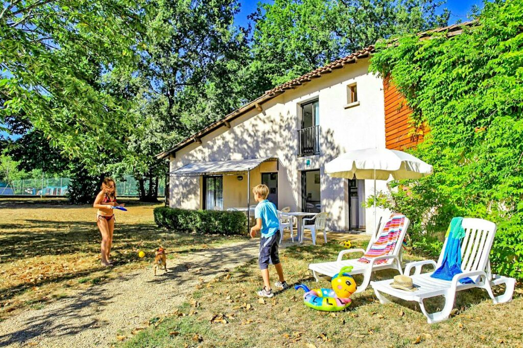 appartements au camping Saint Avit Loisirs