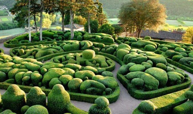 Jardins français